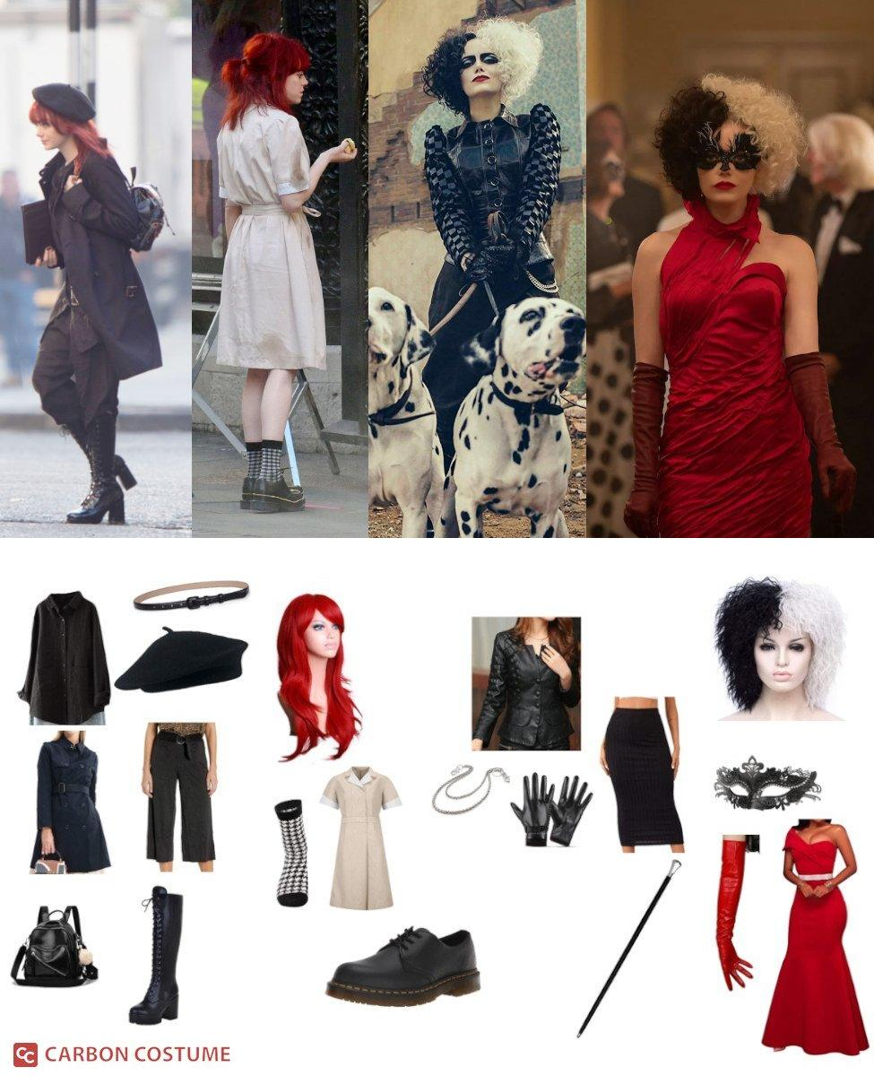 Cruella de Vil from Cruella Cosplay Guide