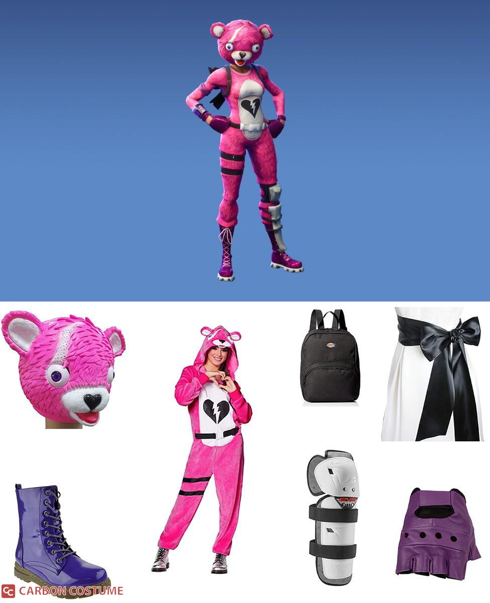 Cuddle Team Leader from Fortnite Cosplay Guide