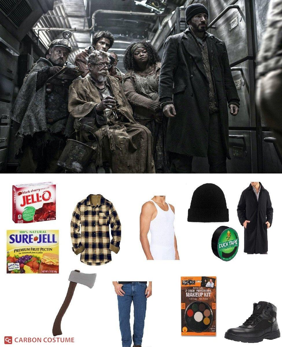 Curtis Everett from Snowpiercer Cosplay Guide