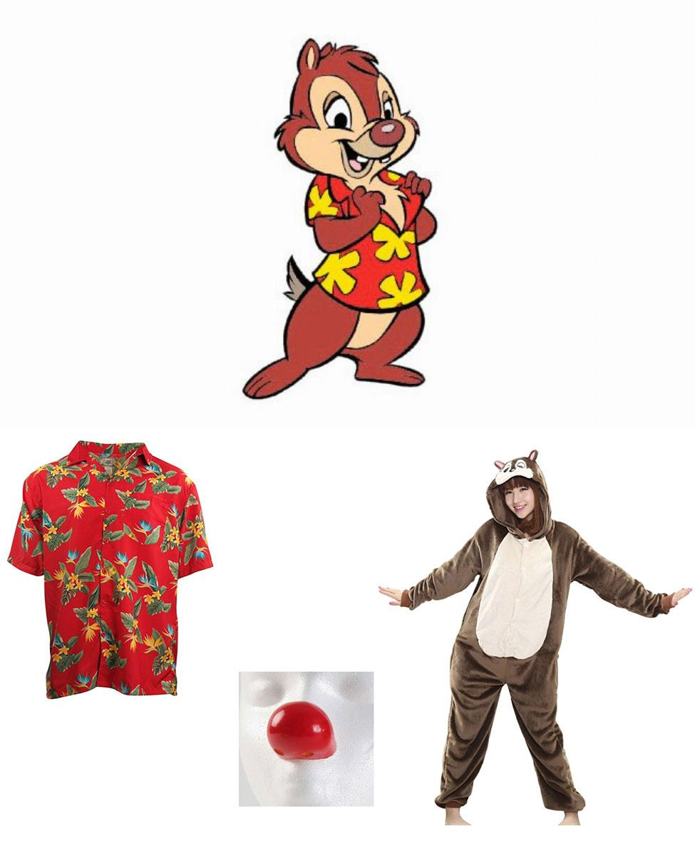 Dale from Chip 'n Dale: Rescue Rangers Cosplay Guide