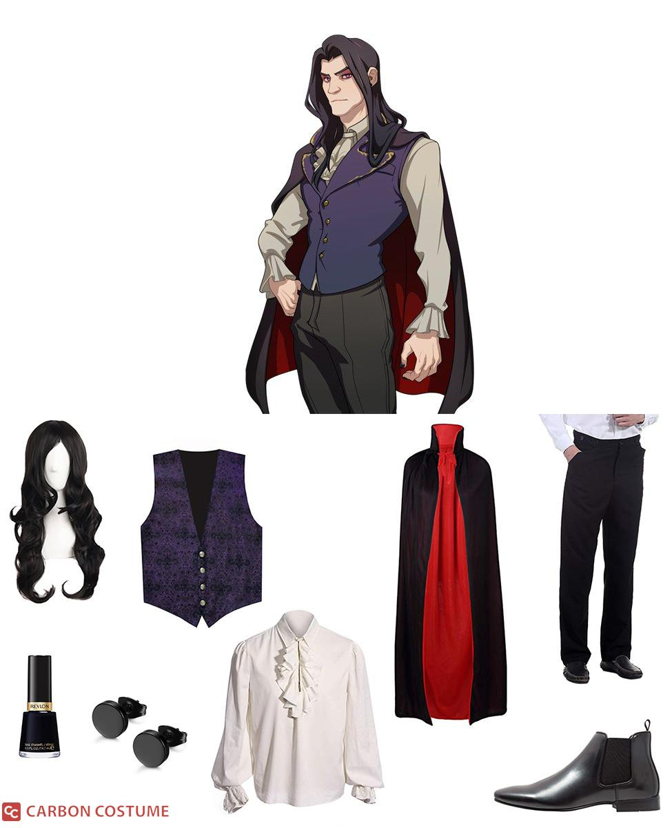 Damien Bloodmarch from Dream Daddy Cosplay Guide