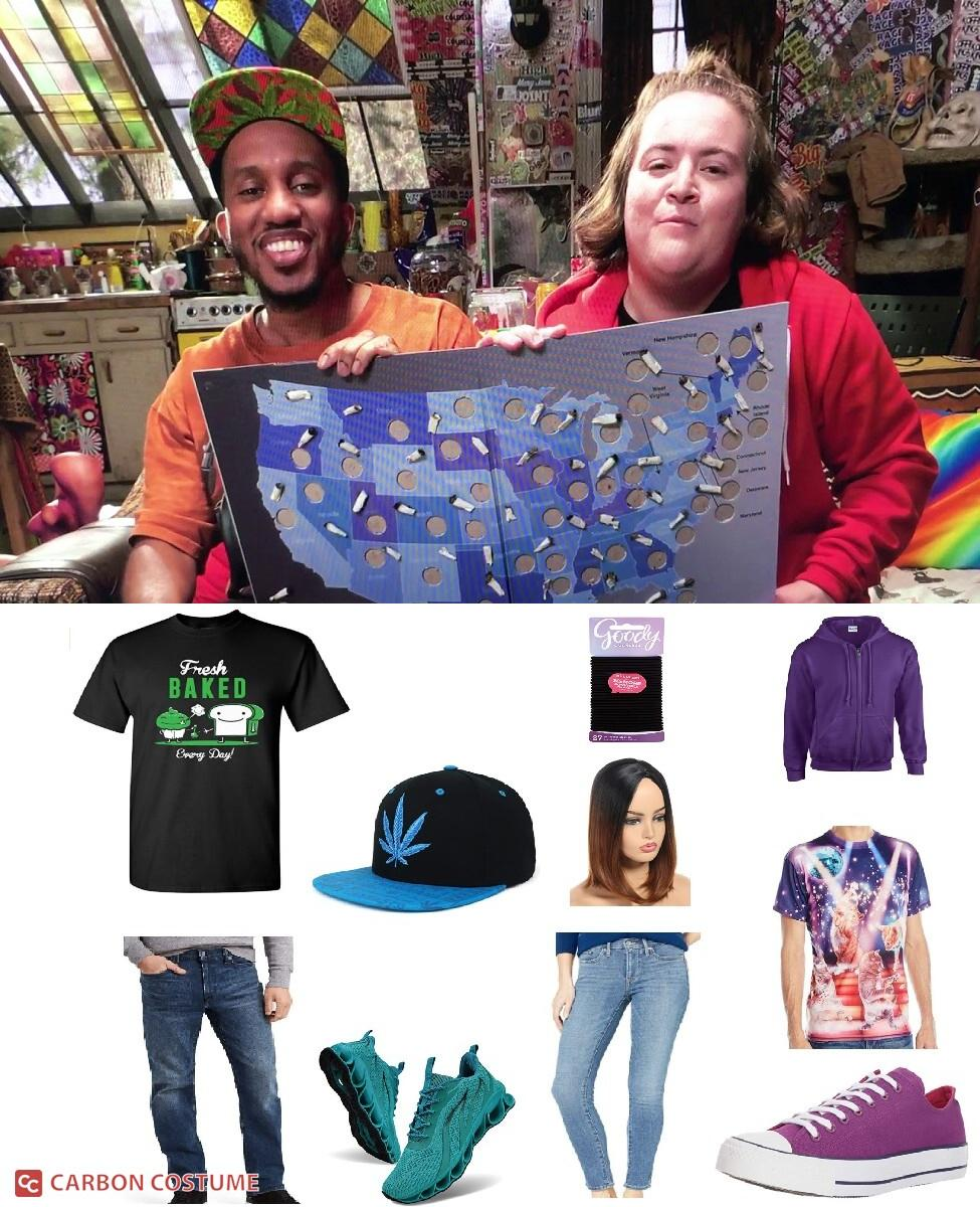 Dank and Dabby from Disjointed Cosplay Guide