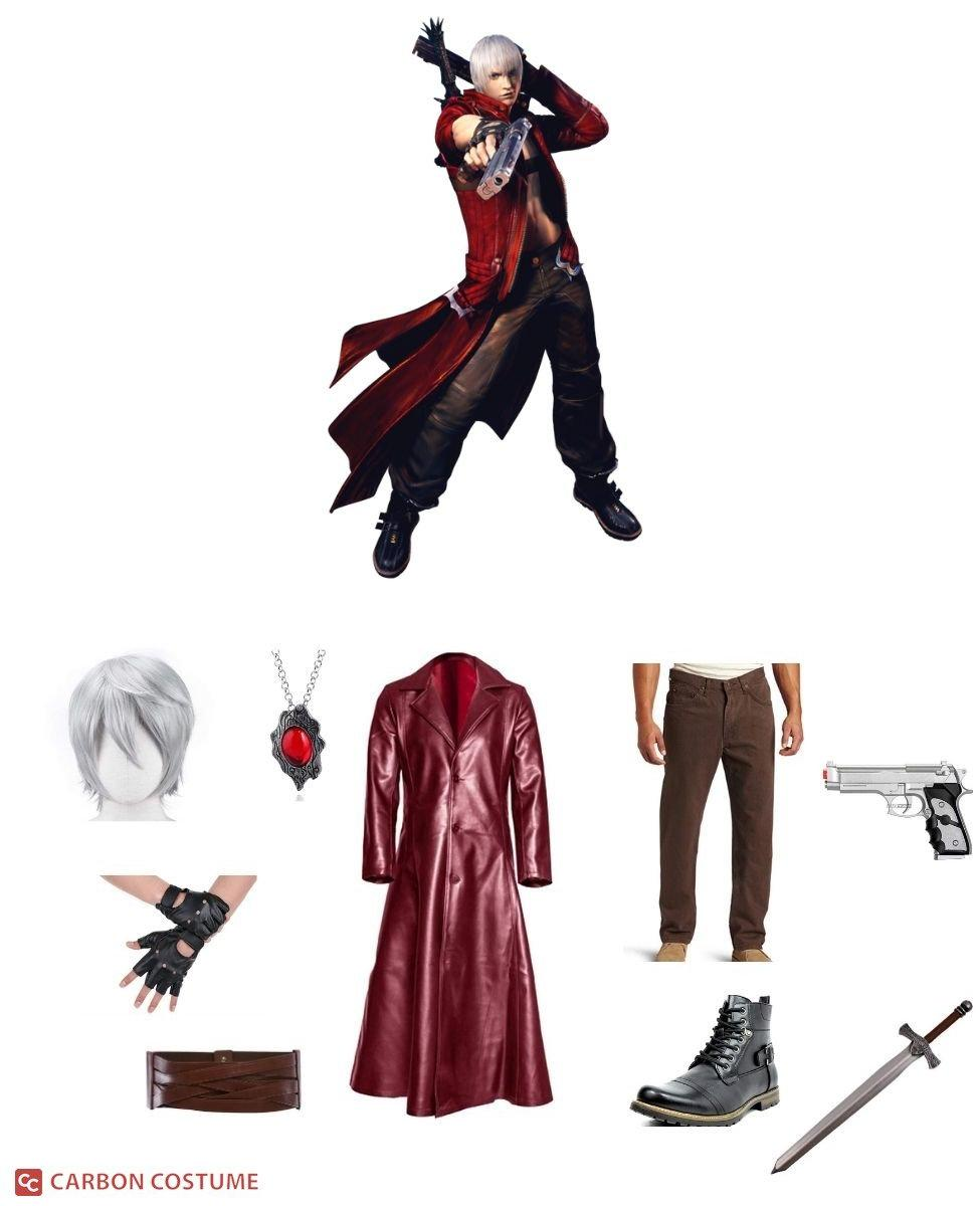 Dante from Devil May Cry 3 Cosplay Guide
