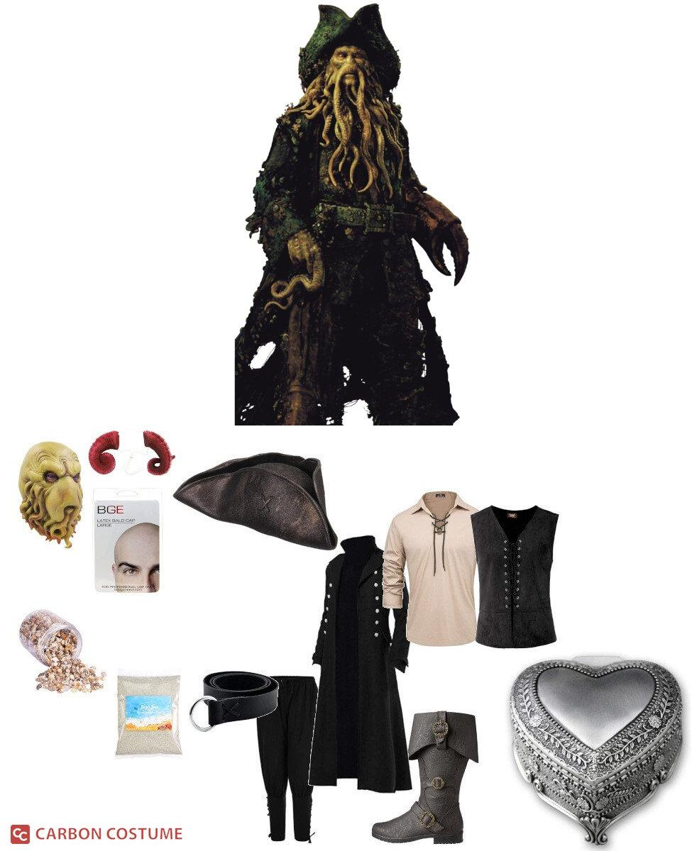 Davy Jones from Pirates of the Caribbean Cosplay Guide