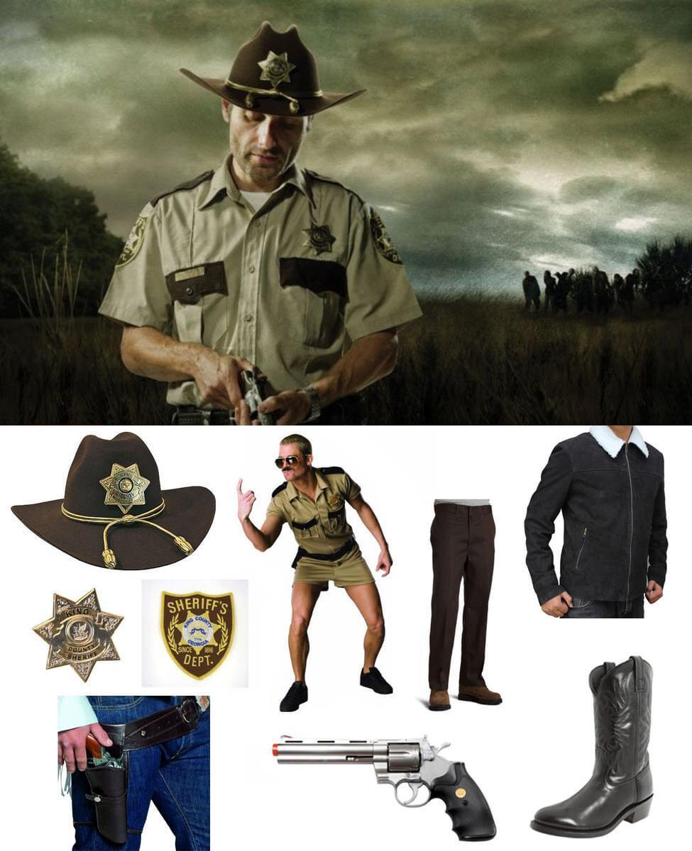 Deputy Sheriff Rick Grimes Cosplay Guide