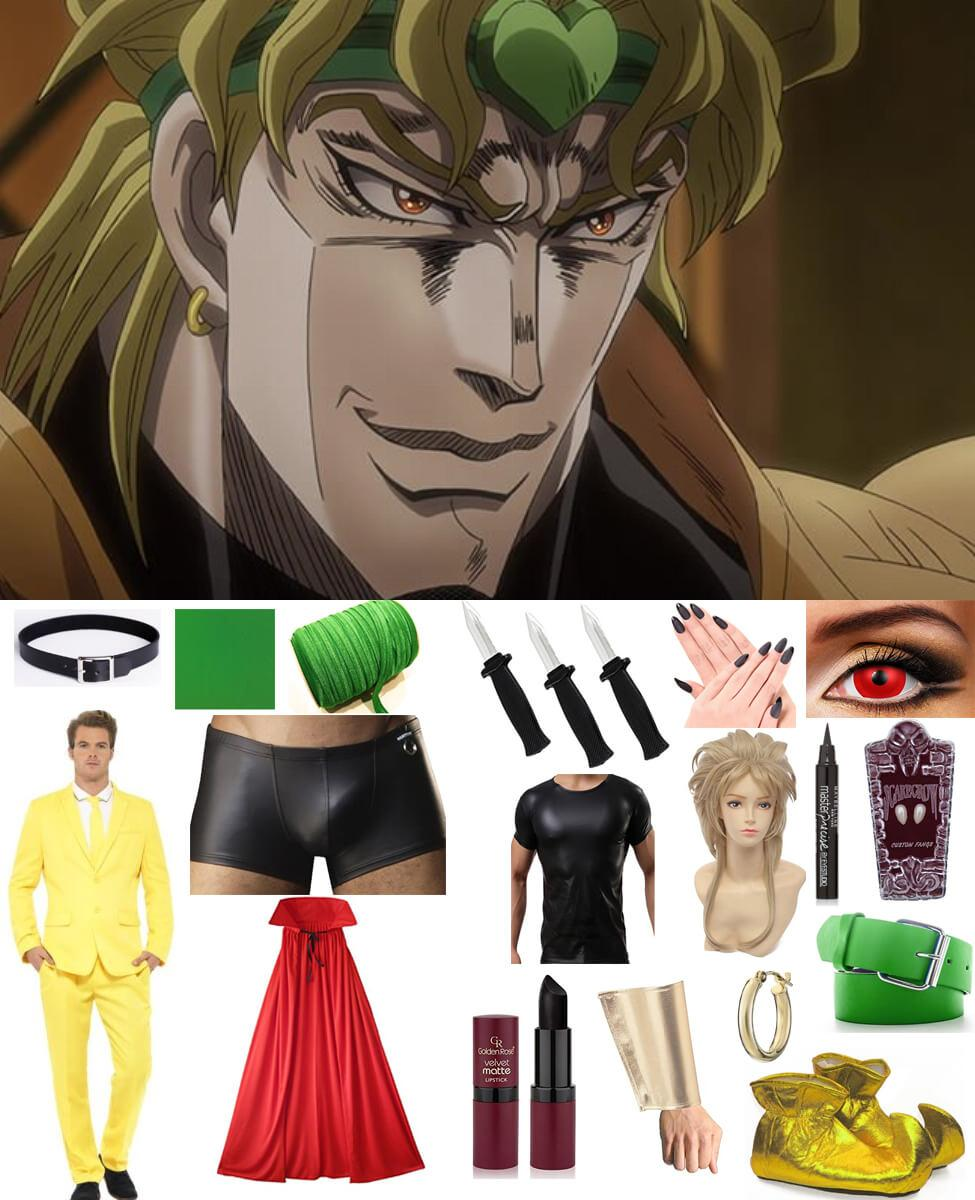 DIO From Stardust Crusaders Cosplay Guide