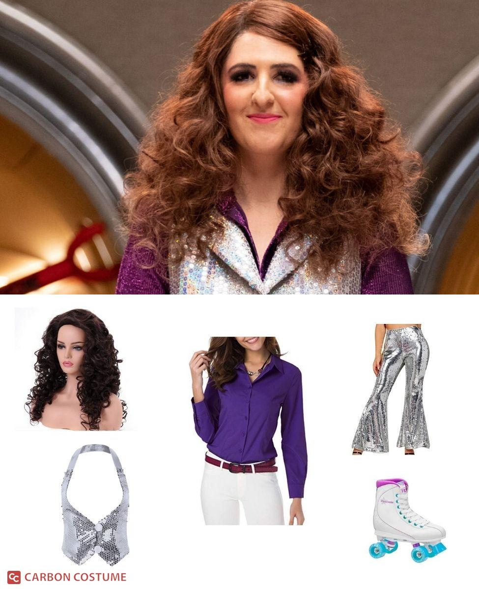 Disco Janet from The Good Place Cosplay Guide