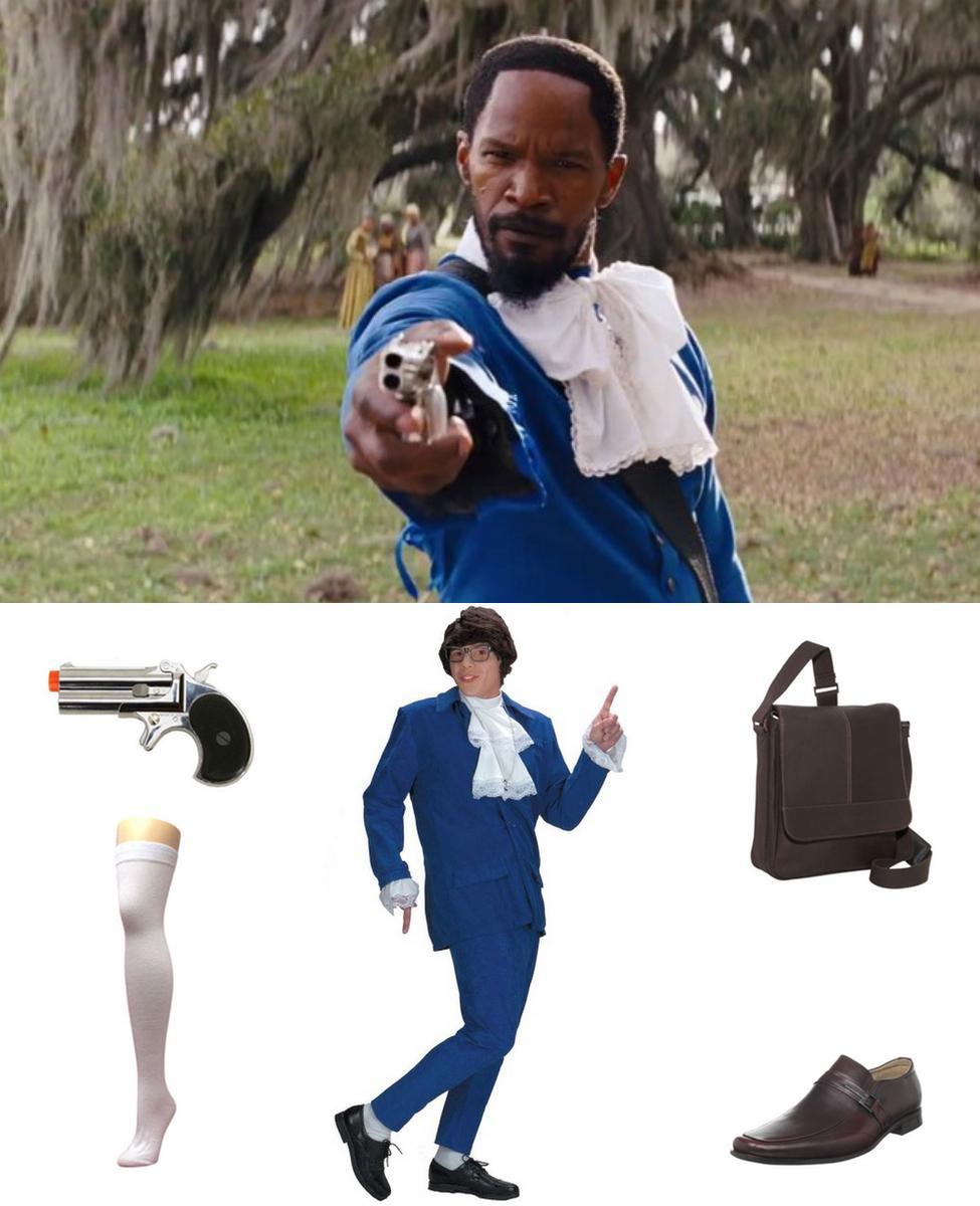 Django (Blue Valet Suit) Cosplay Guide