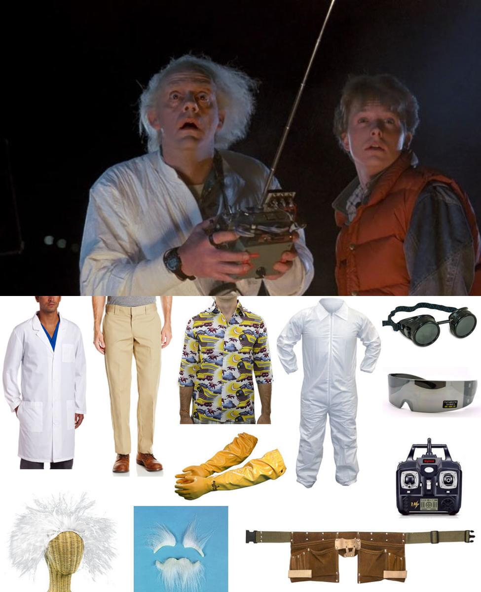 Doc Brown Cosplay Guide