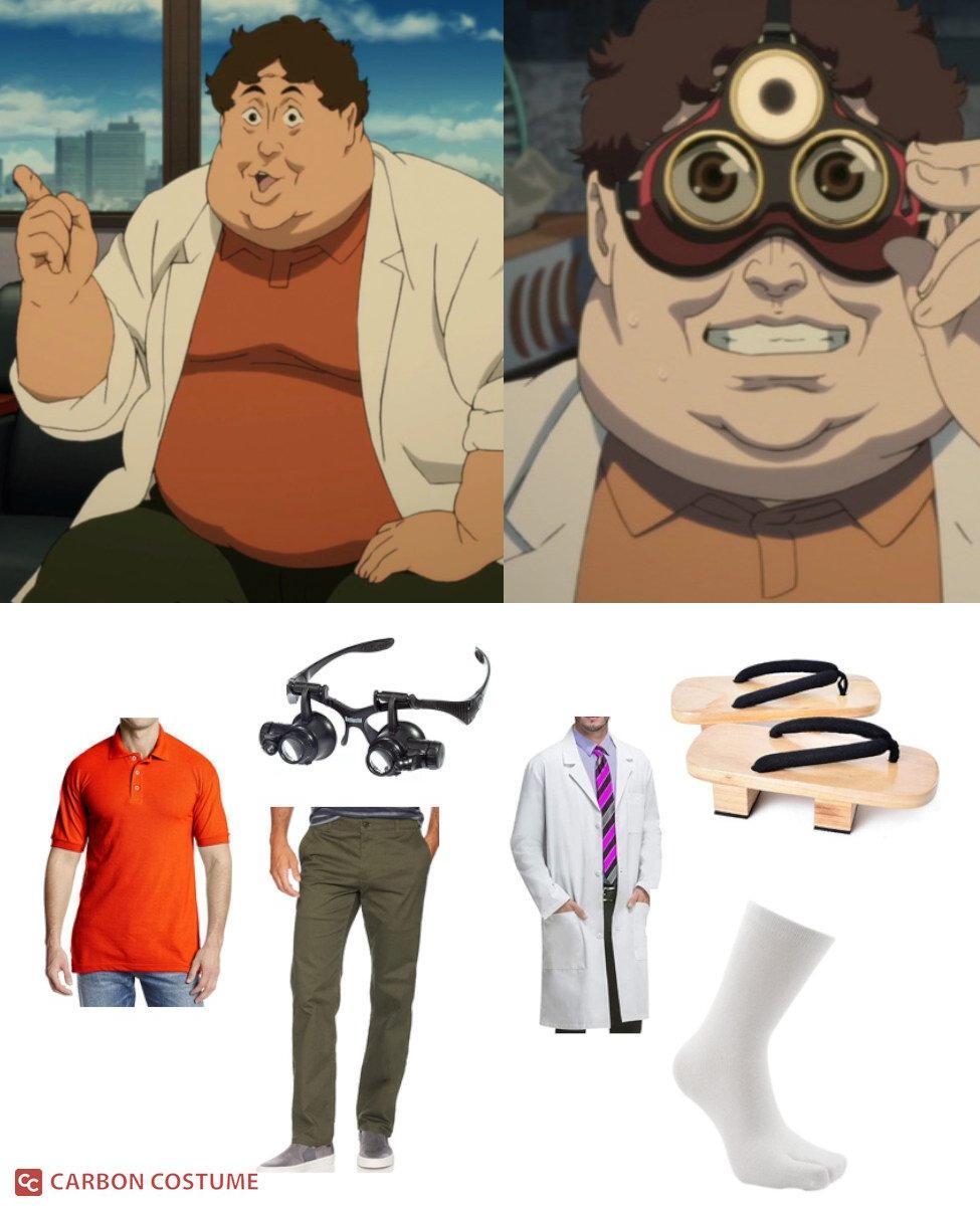 Doctor Kōsaku Tokita from Paprika Cosplay Guide