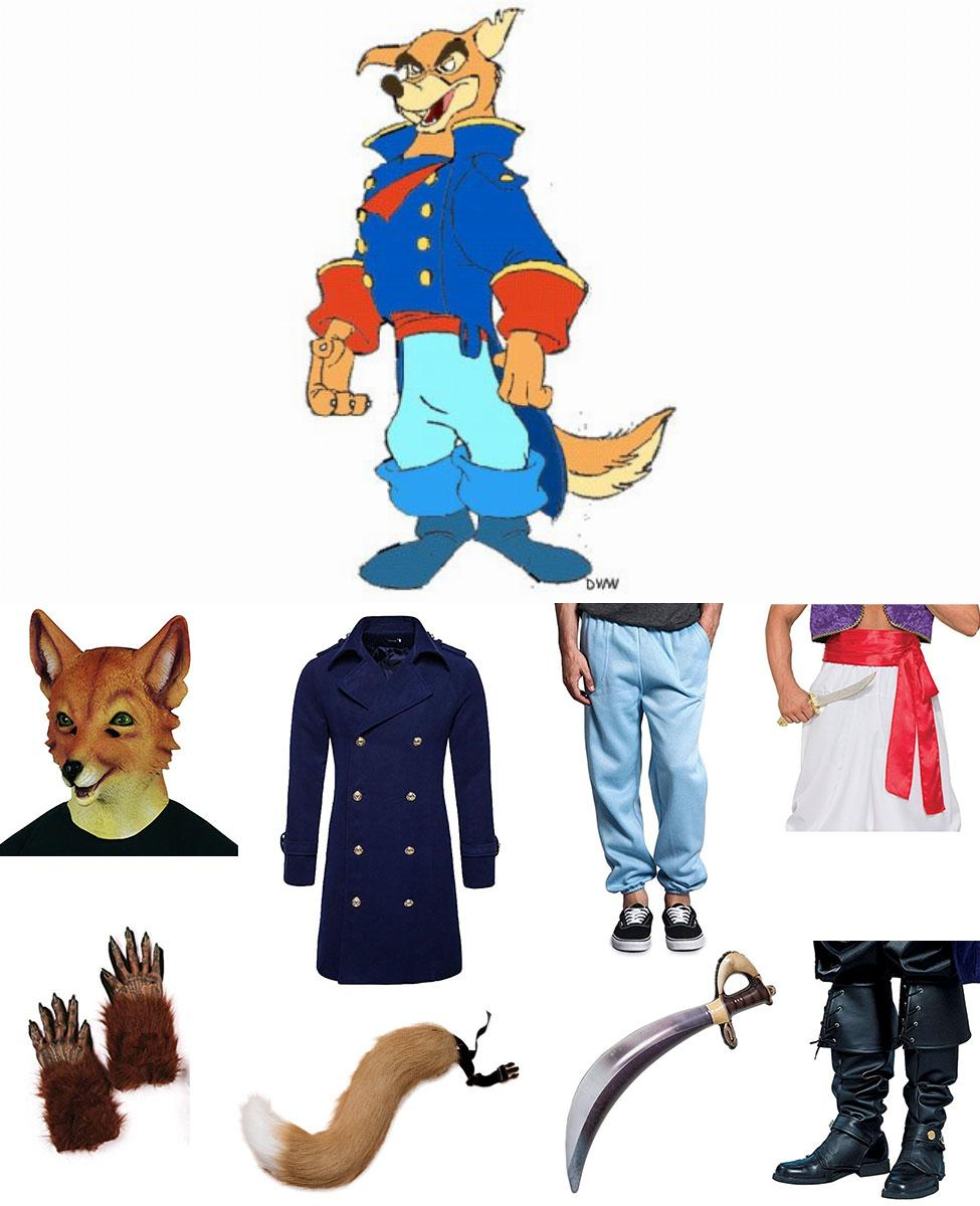 Don Karnage from TaleSpin Cosplay Guide
