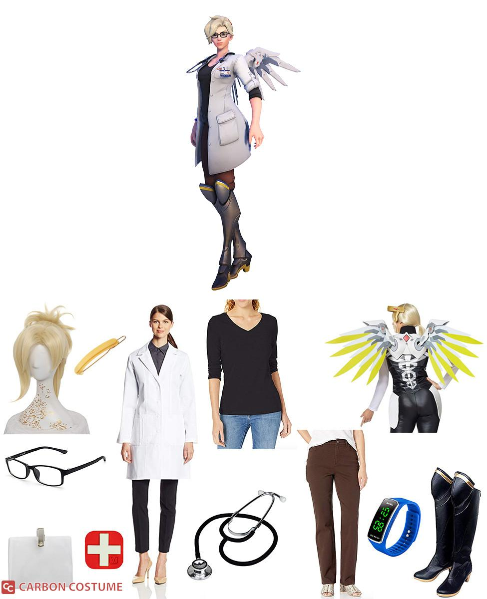Dr. Angela Ziegler Mercy Cosplay Guide