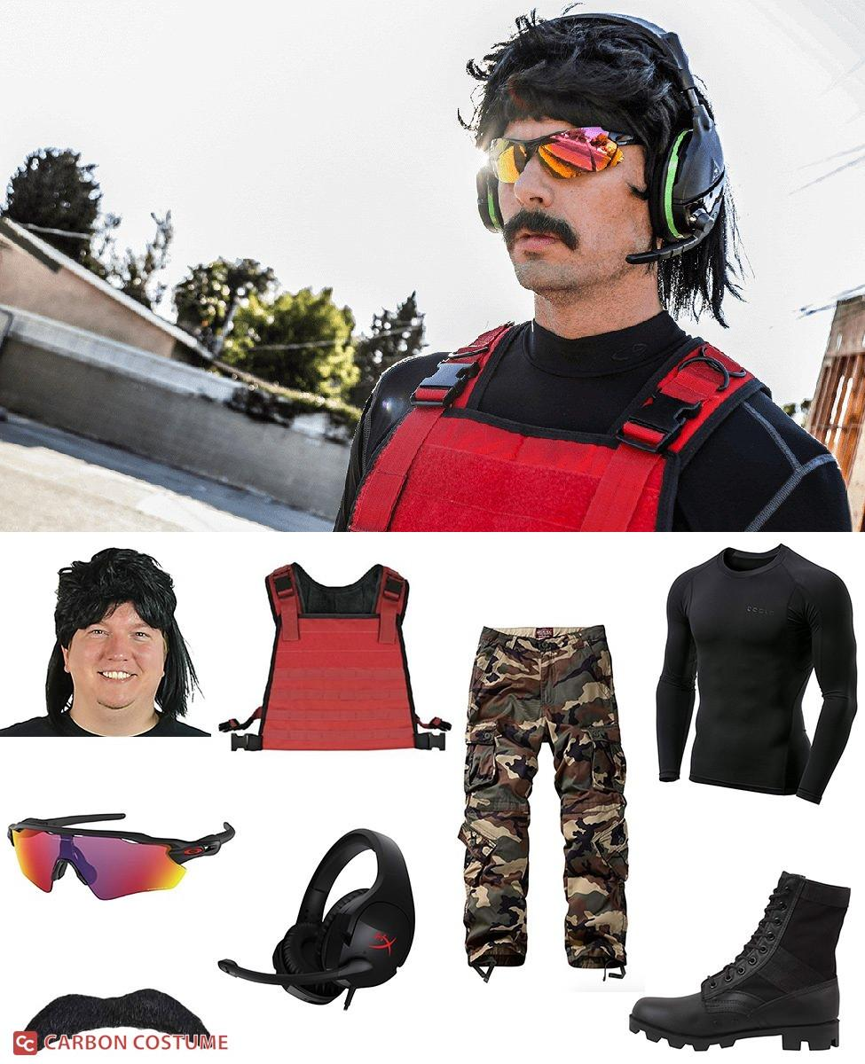 Dr Disrespect Cosplay Guide