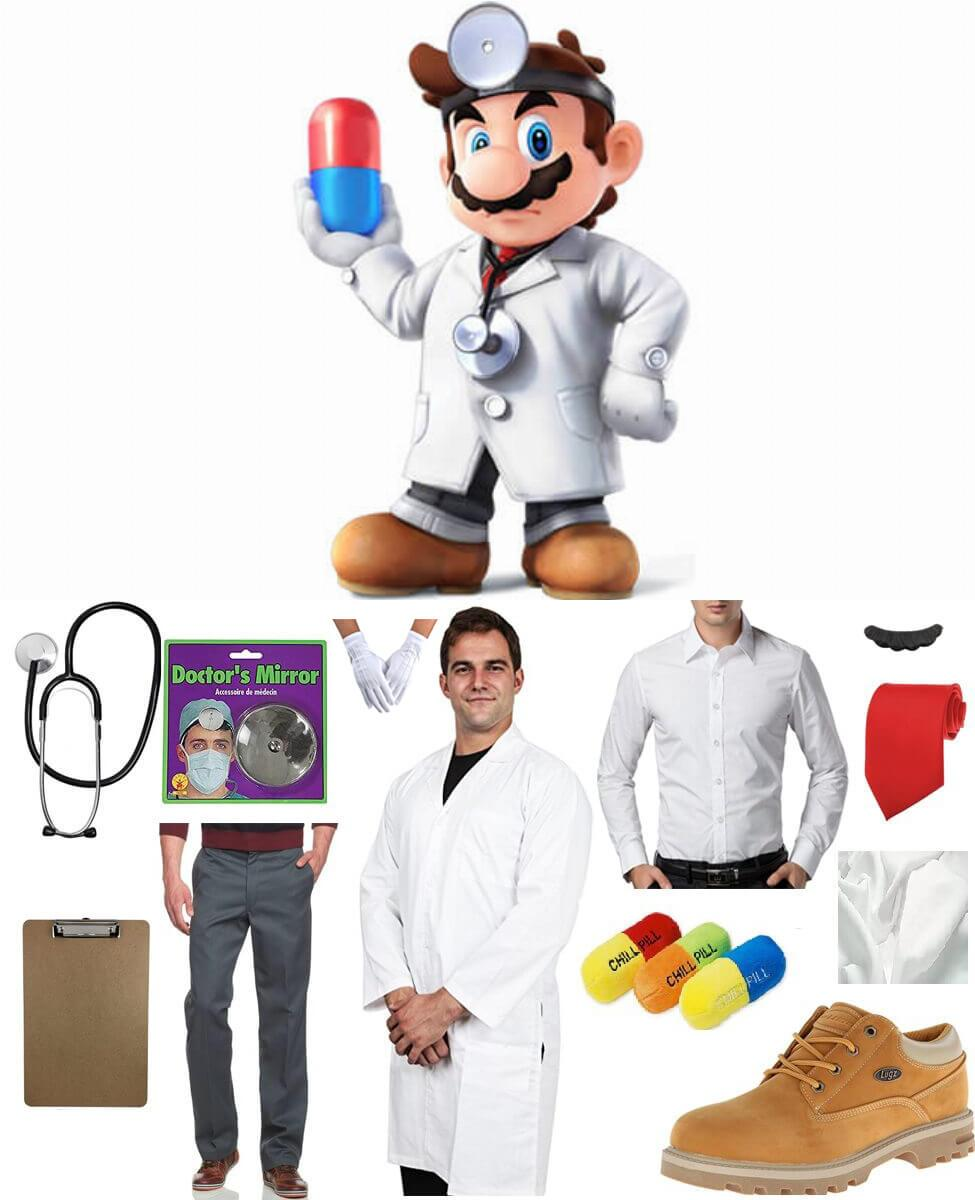 Dr. Mario Cosplay Guide