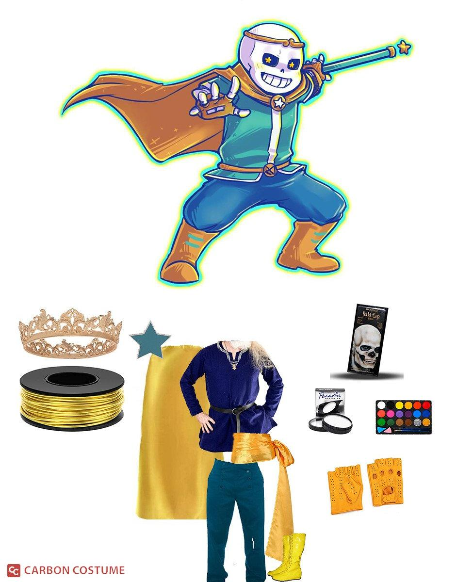 Dream!Sans from Undertale Cosplay Guide
