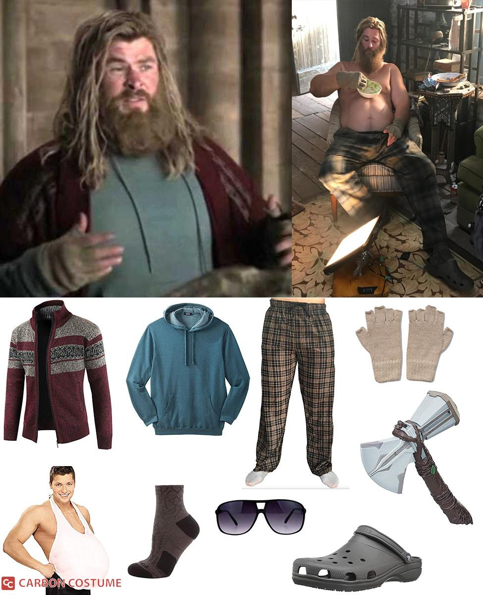 Drunk Thor in Avengers: Endgame Cosplay Guide