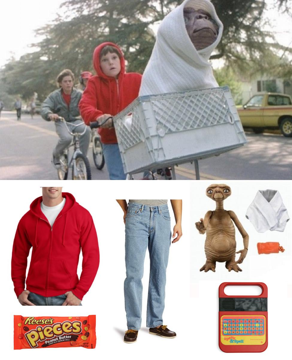 E.T. and Elliott Cosplay Guide