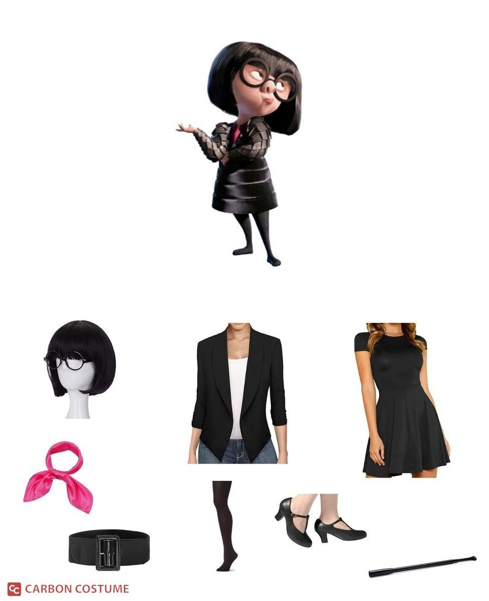 Edna Mode from The Incredibles Cosplay Guide