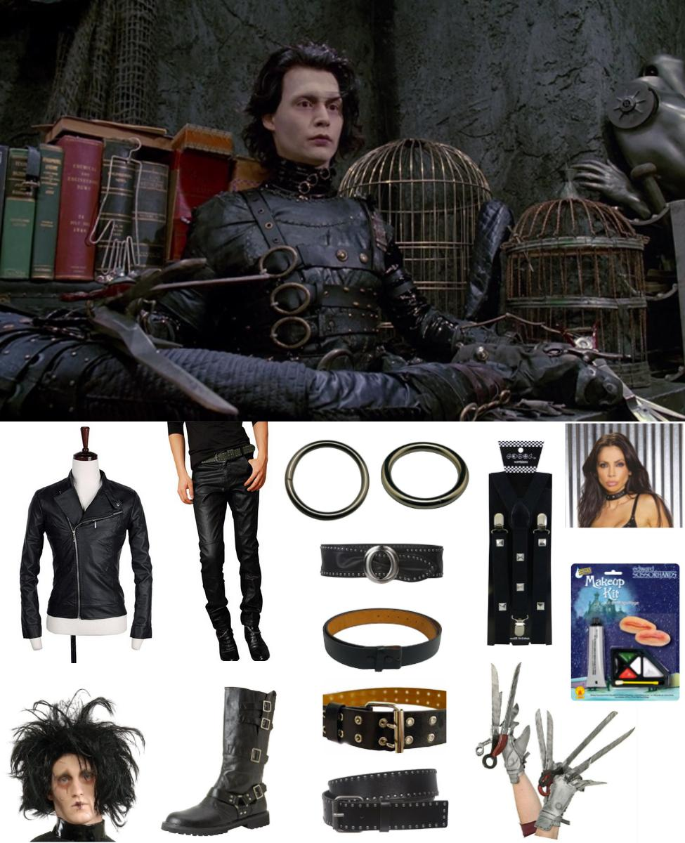 Edward Scissorhands Cosplay Guide