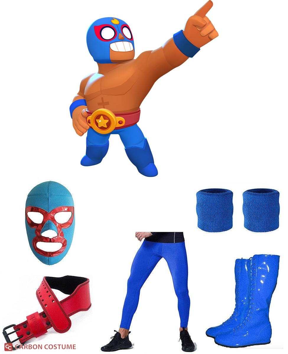 El Primo from Brawl Stars Cosplay Guide
