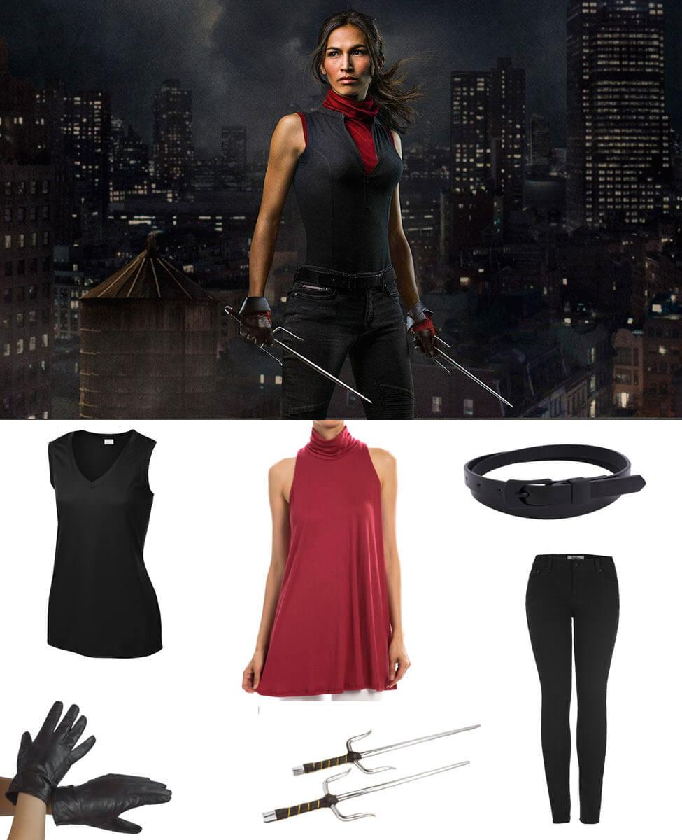 Elektra Black Cosplay Guide