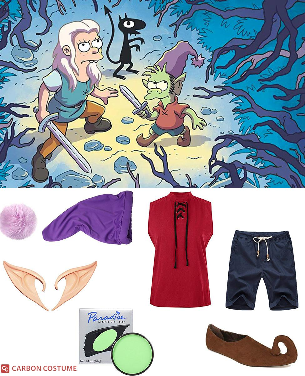 Elfo from Disenchantment Cosplay Guide
