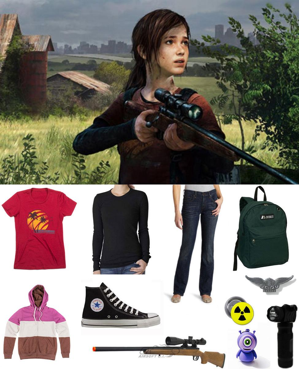Ellie from The Last of Us Cosplay Guide