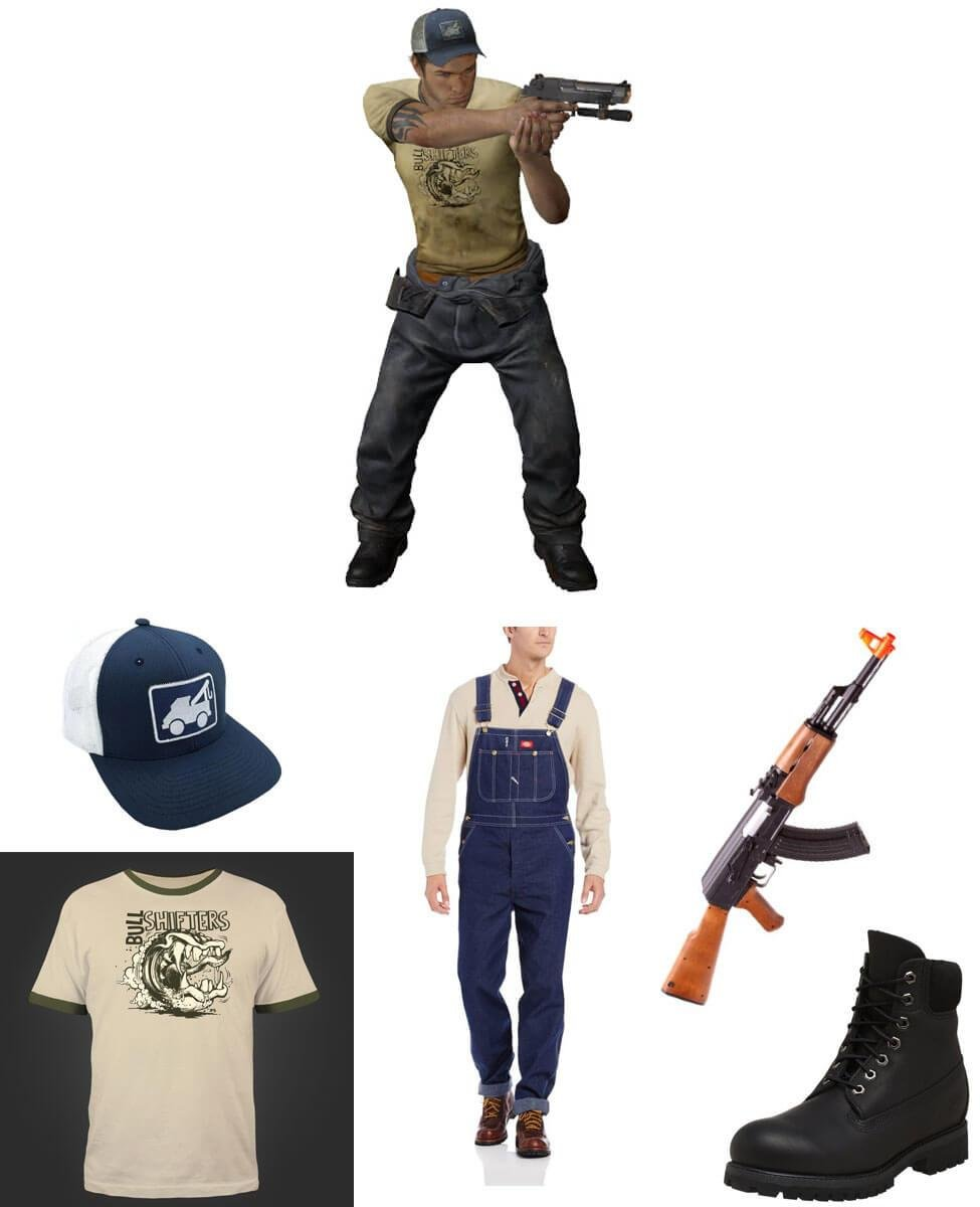 Ellis from Left 4 Dead 2 Cosplay Guide