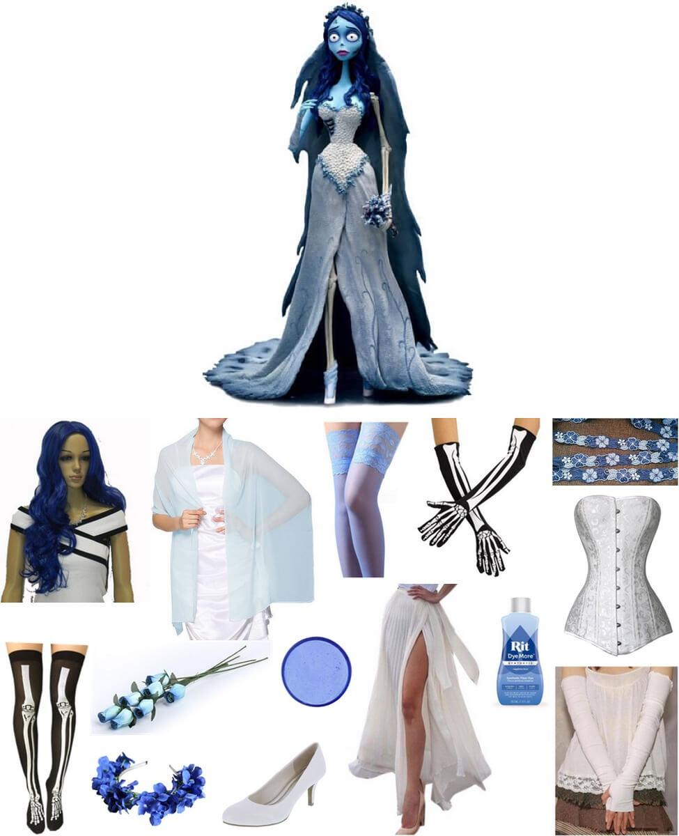 Emily The Corpse Bride Cosplay Guide