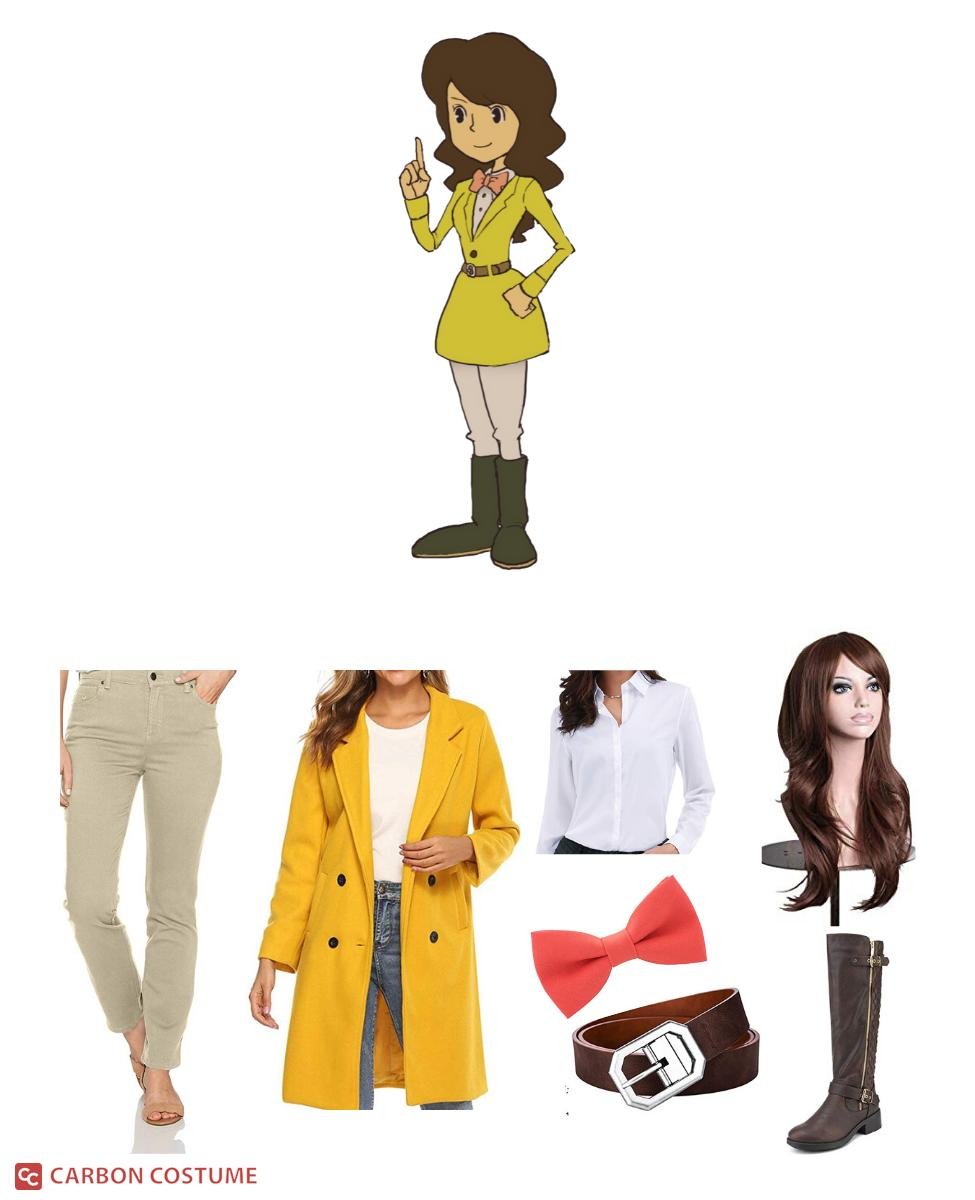 Emmy Altava from Professor Layton Cosplay Guide