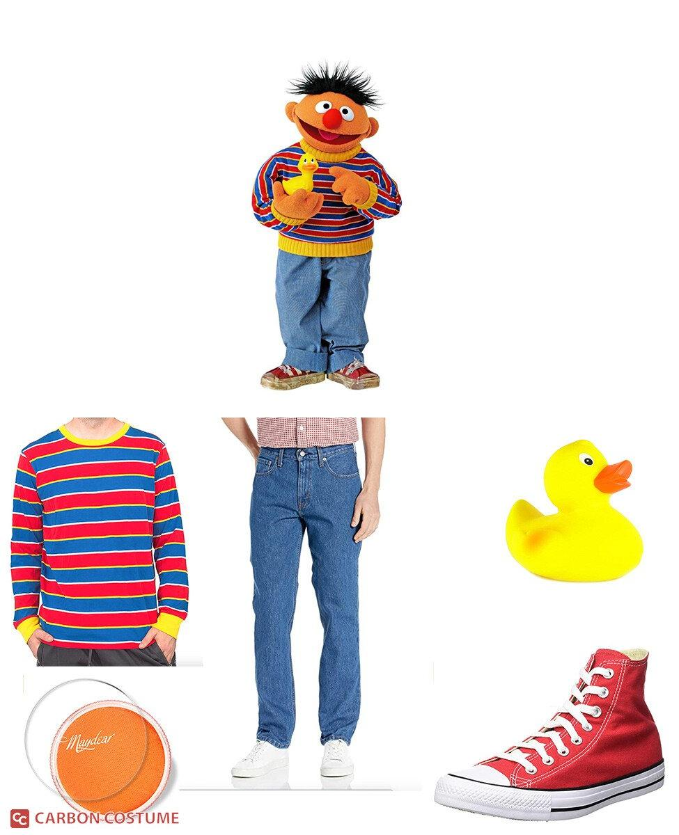 Ernie from Sesame Street Cosplay Guide