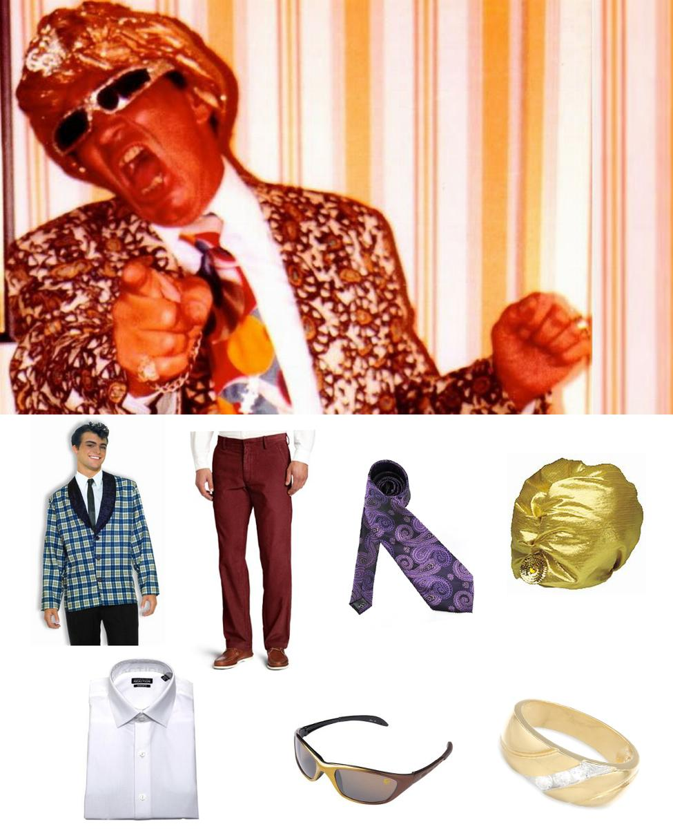 Ernie Roth, The Grand Wizard of Wrestling Cosplay Guide