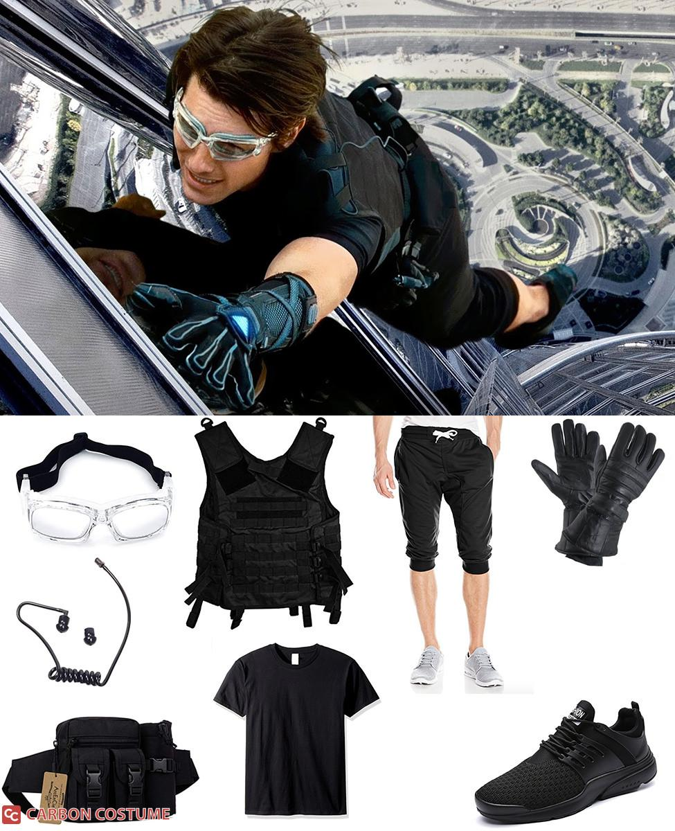 Ethan Hunt in Mission Impossible: Ghost Protocol Cosplay Guide