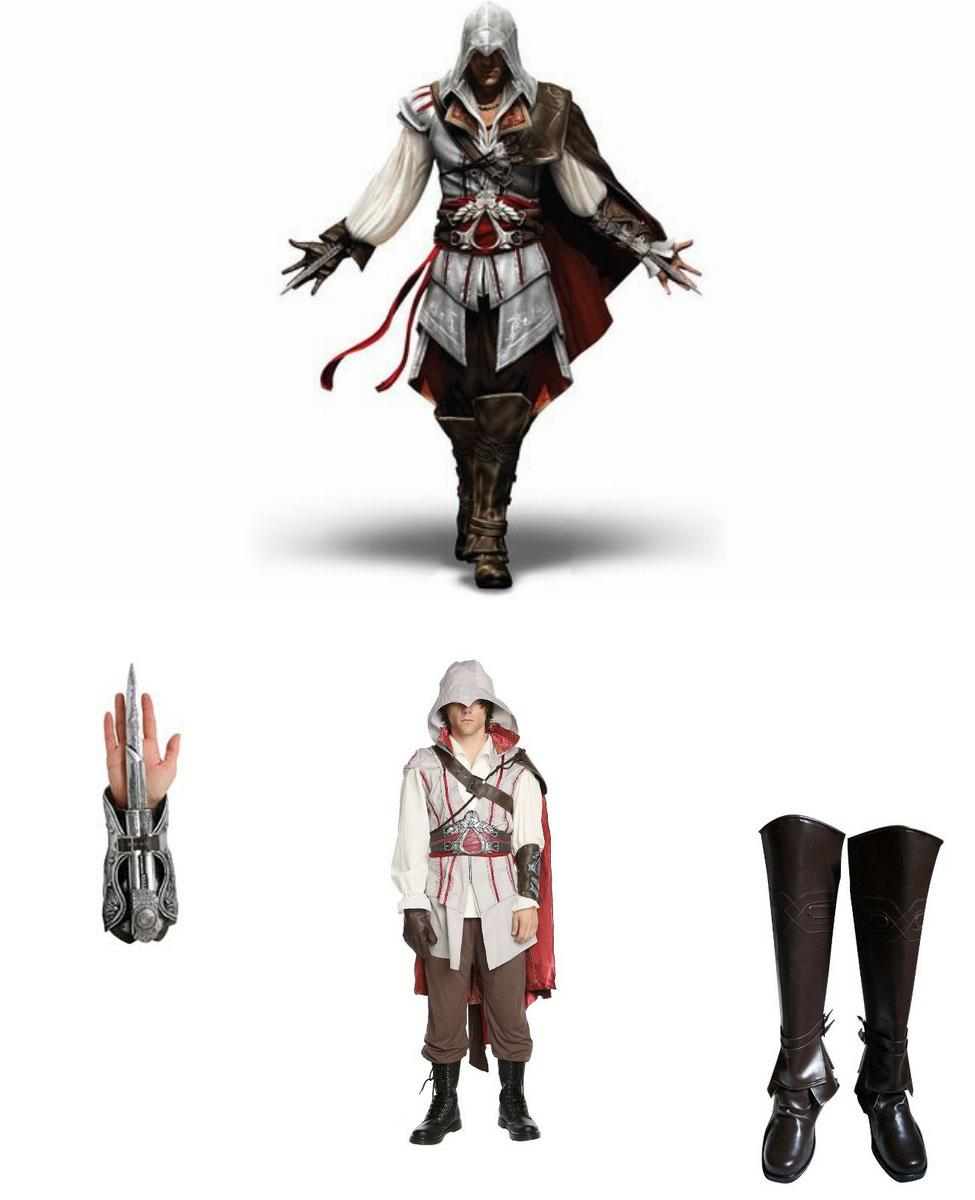 Ezio from Assassin's Creed II Cosplay Guide