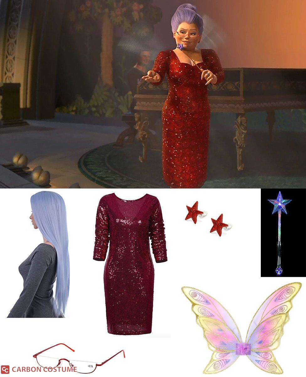 Fairy Godmother from Shrek 2 Cosplay Guide