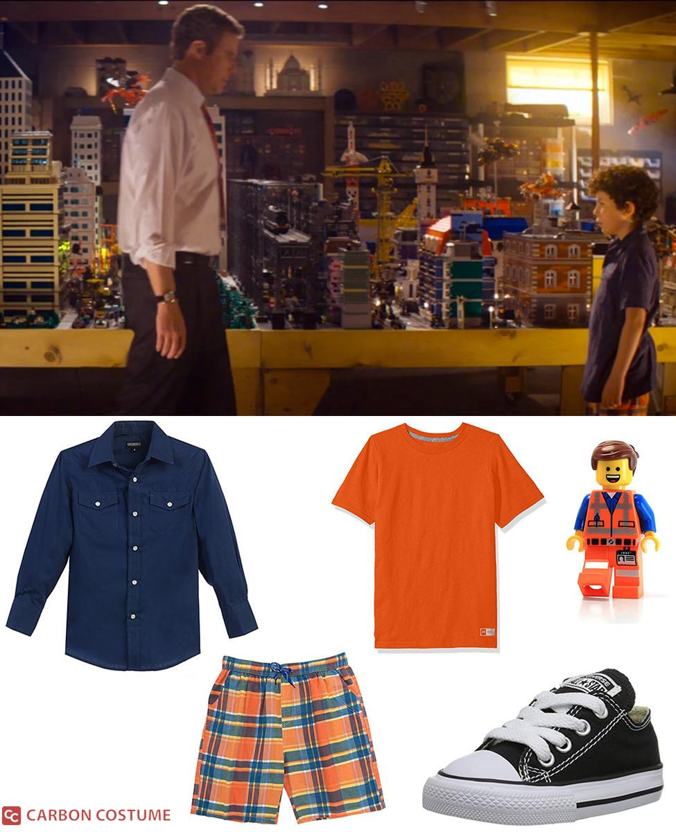 Finn from The Lego Movie Cosplay Guide