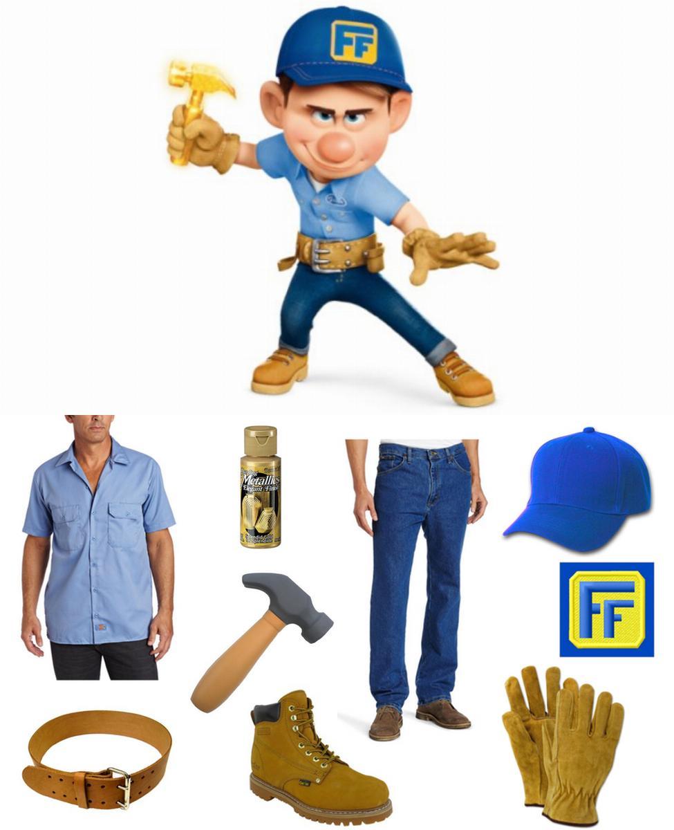 Fix-It Felix Jr. Cosplay Guide