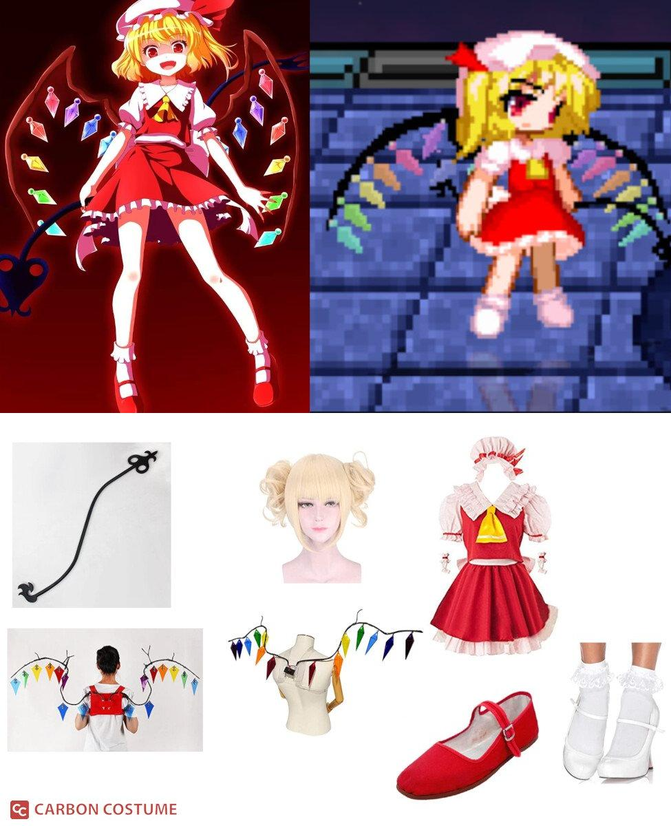 Flandre Scarlet from Touhou Project Cosplay Guide