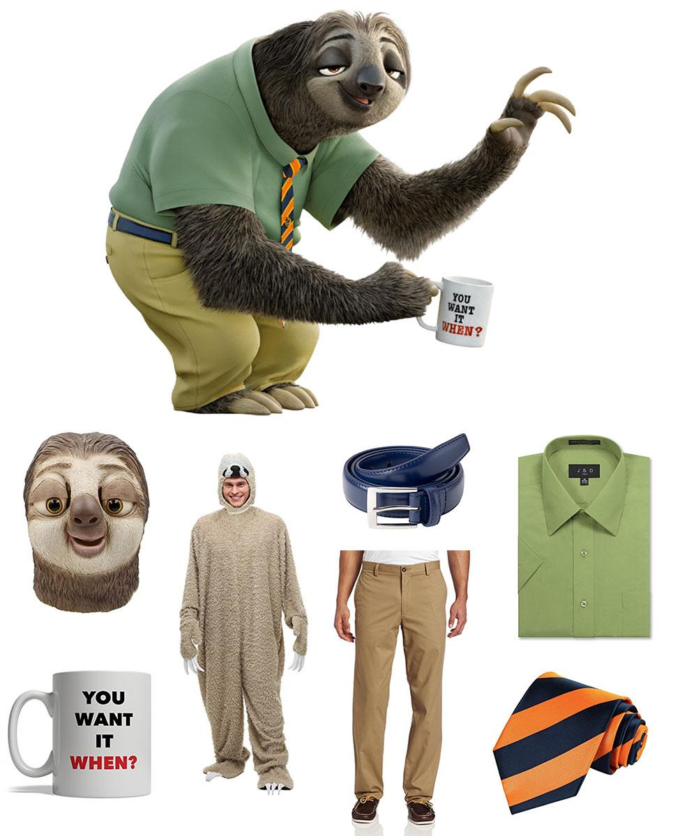 Flash Slothmore Cosplay Guide