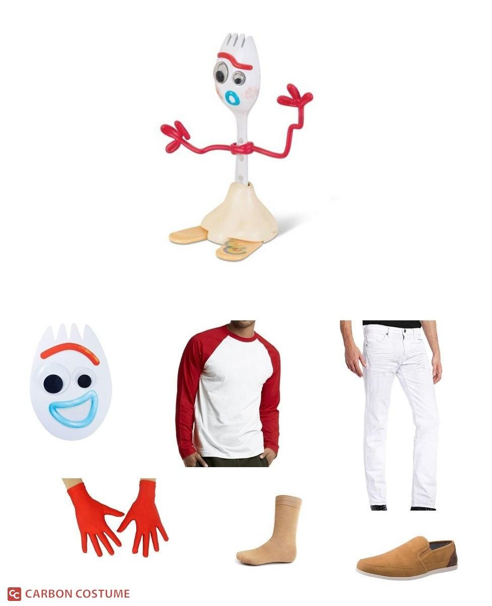 Forky from Toy Story 4 Cosplay Guide