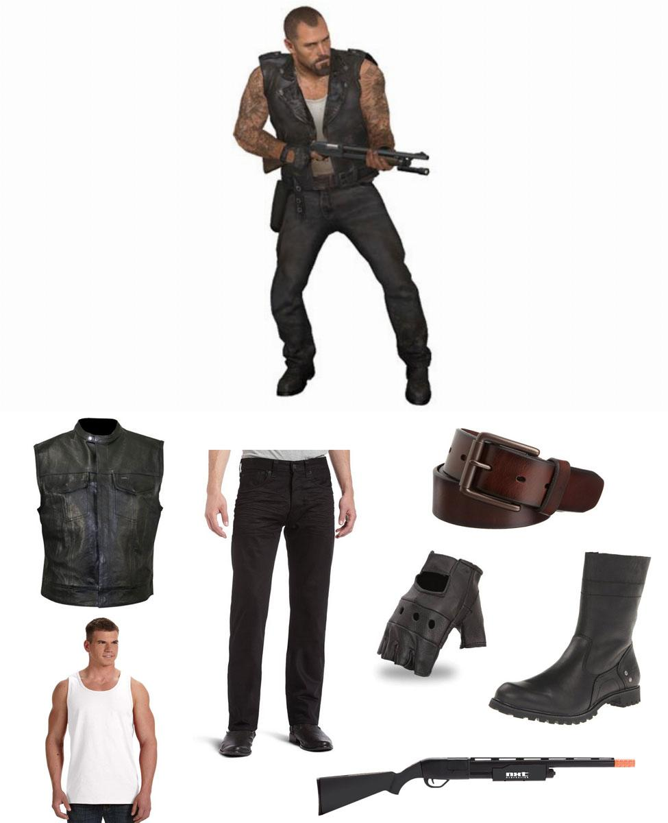 Francis from Left 4 Dead Cosplay Guide