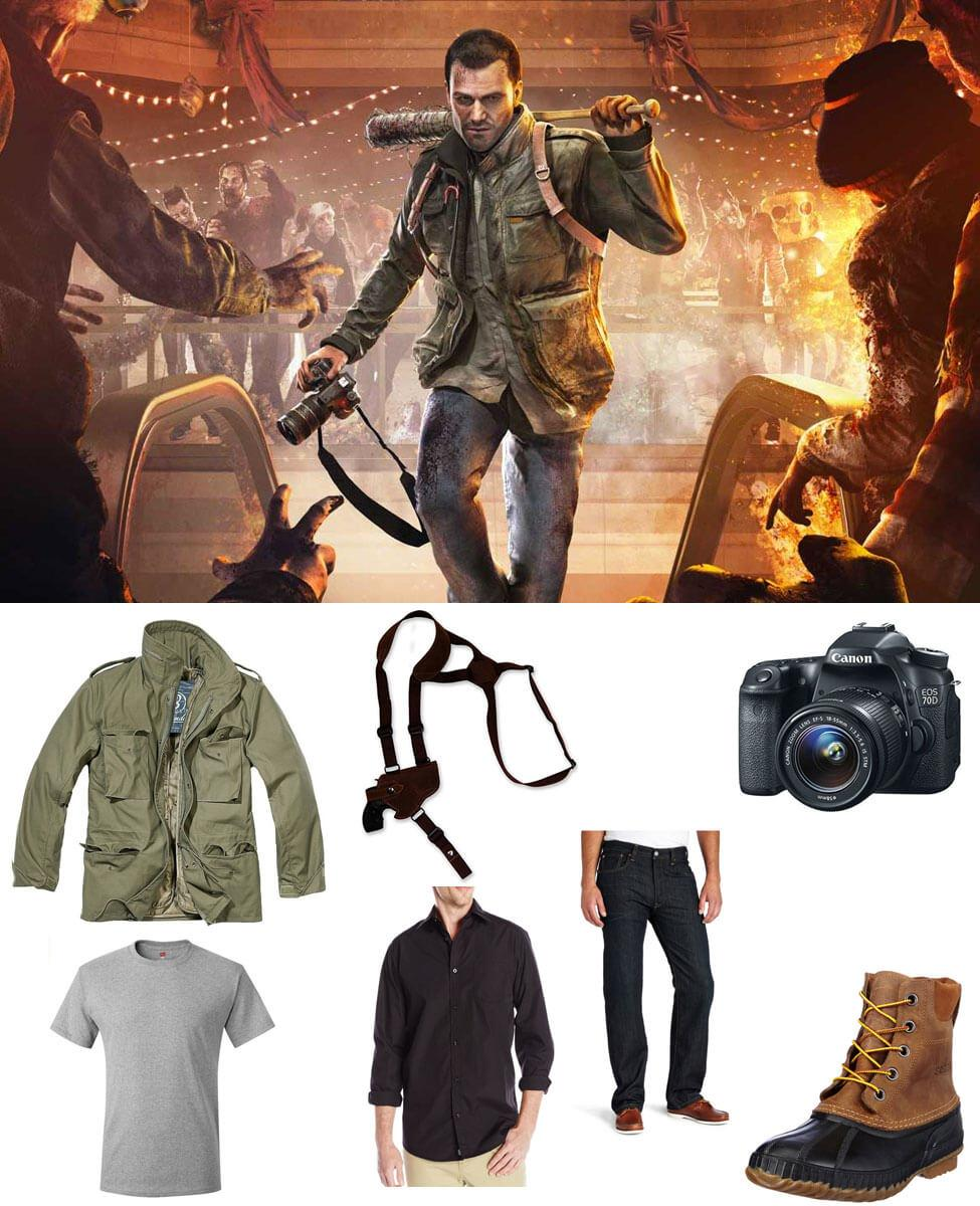 Frank West in Dead Rising 4 Cosplay Guide