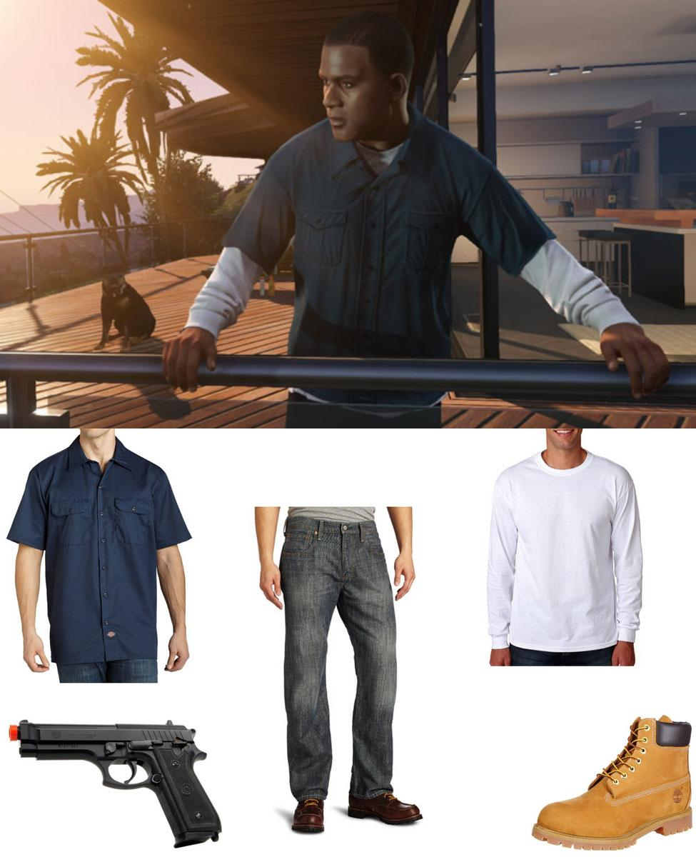 Franklin from GTA5 Cosplay Guide