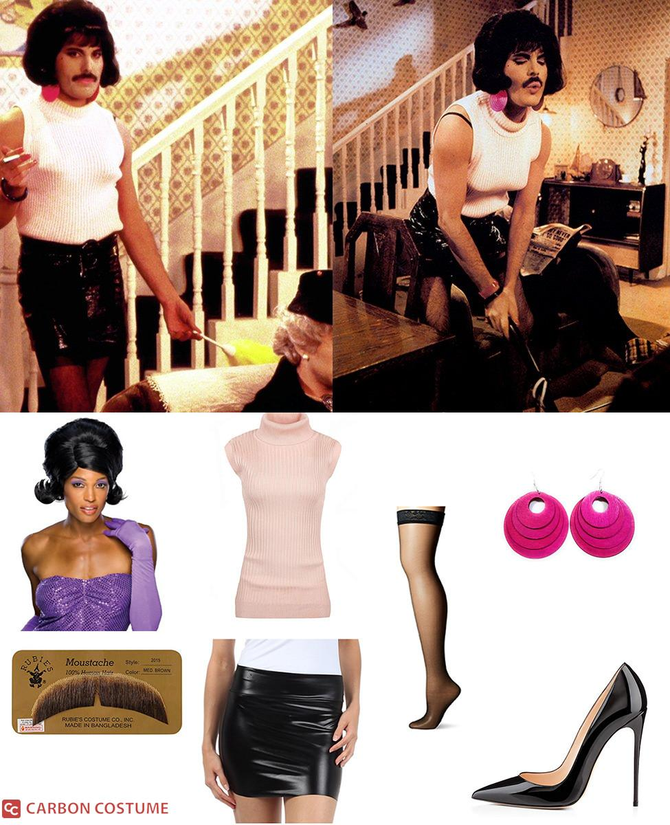 """Freddie Mercury as Bet Lynch from """"I Want To Break Free"""" Cosplay Guide"""