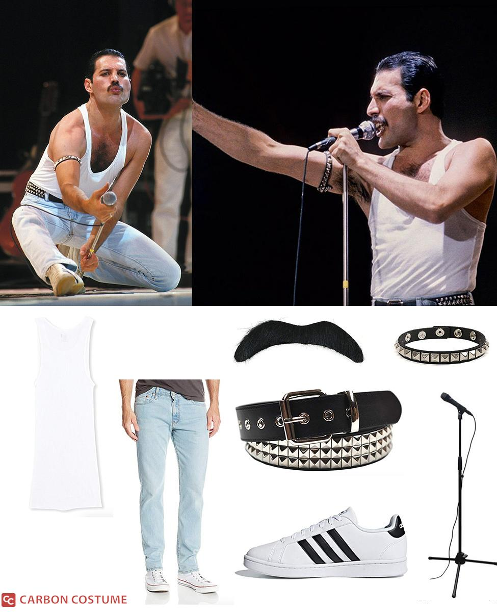 Freddie Mercury from Live Aid Cosplay Guide
