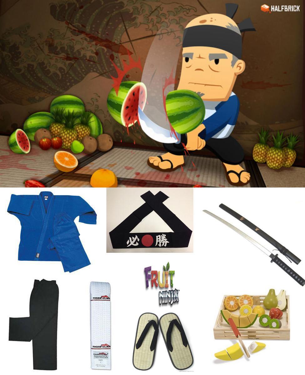 Fruit Ninja Sensei Cosplay Guide