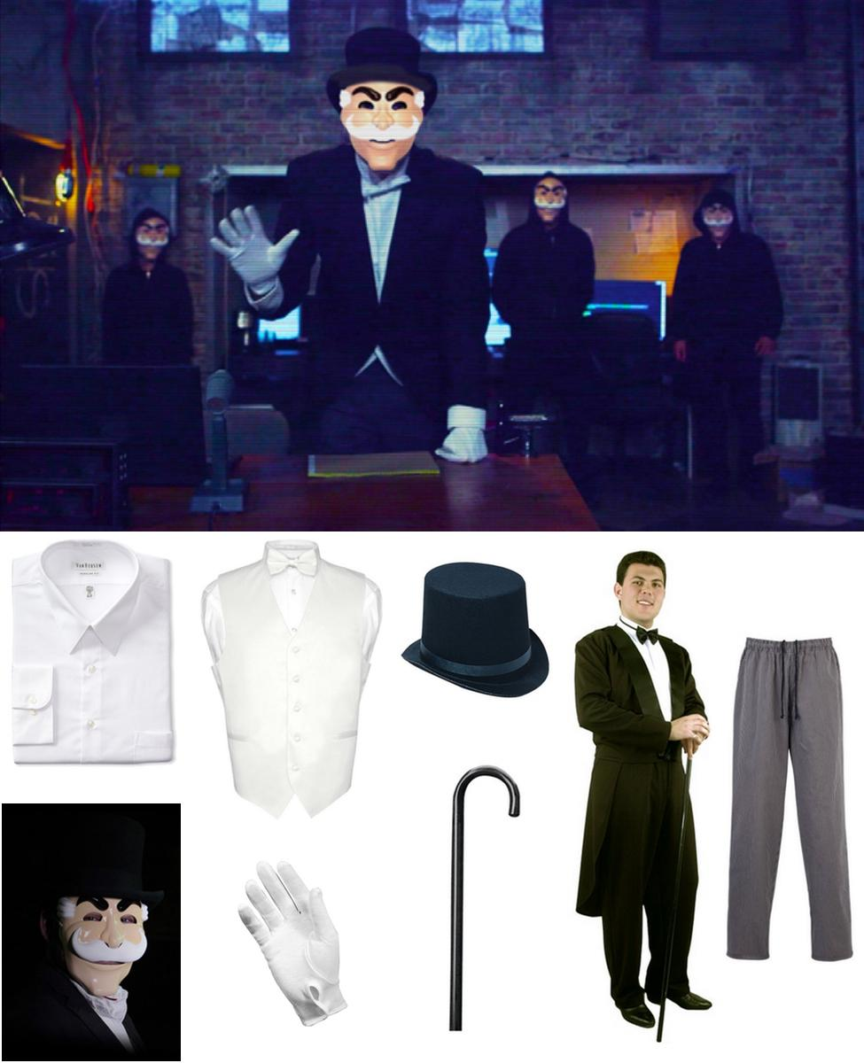 Fsociety Masked Man Cosplay Guide