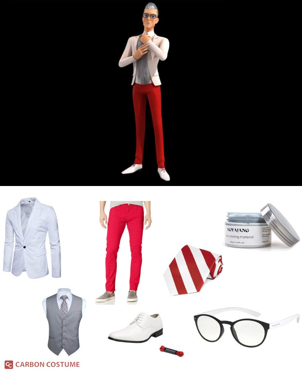 Gabriel Agreste from Miraculous Ladybug Cosplay Guide