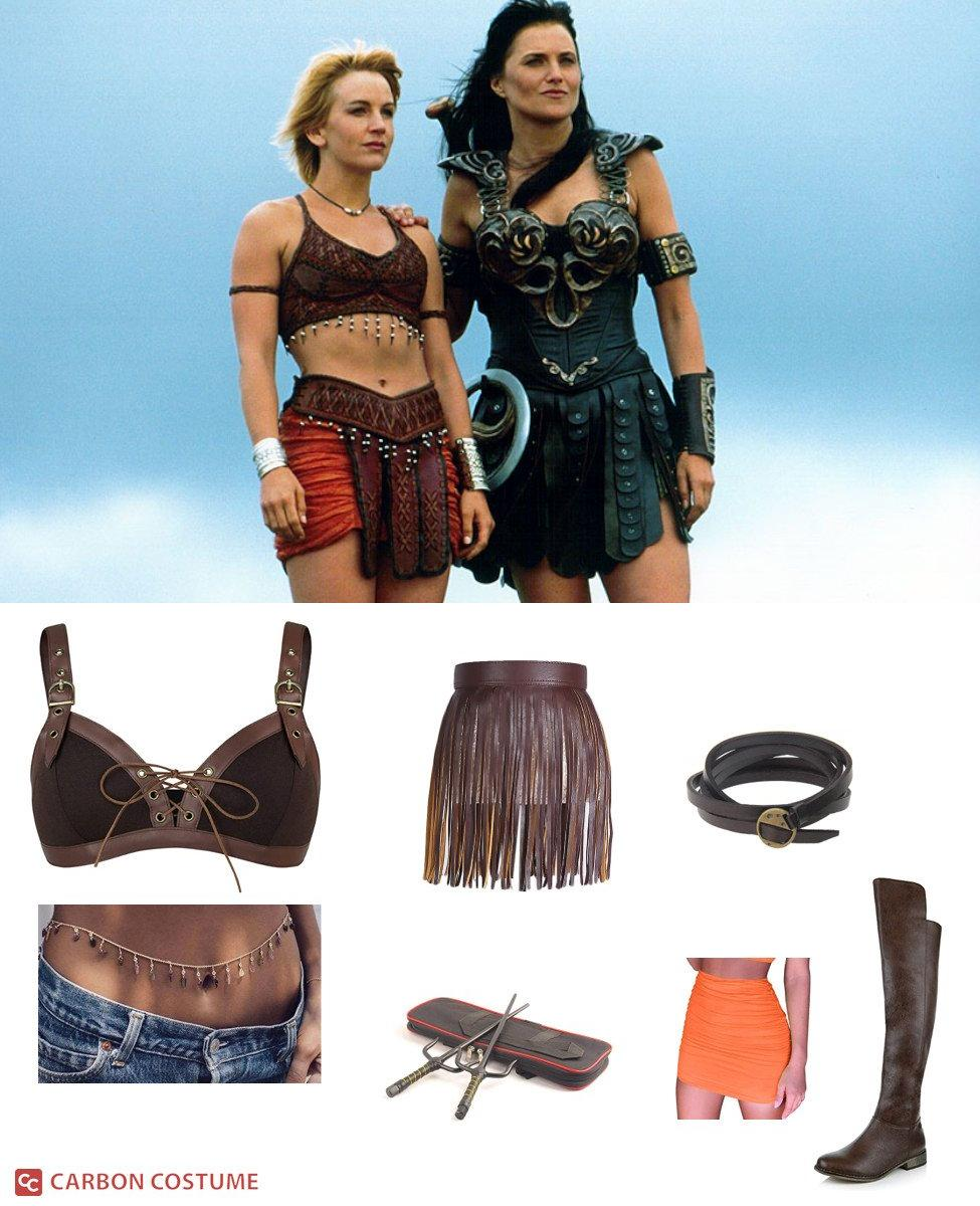 Gabrielle from Xena: Warrior Princess Cosplay Guide