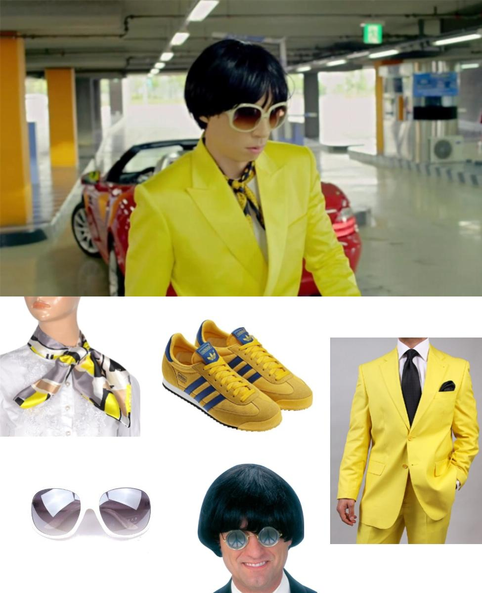 Gangnam Style Yellow Suit Guy Cosplay Guide